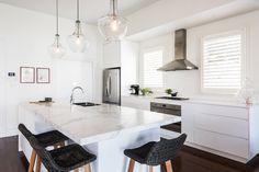Sandringham Renovation - Kitchen :: Designed by Eat Bathe Live Table, Renovations, Kitchen Renovation, Interior Renovation, Furniture, Interior, Big Kitchen, Kitchen, Home Decor