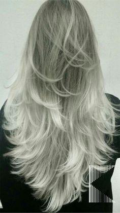 Ombré hair iluminado