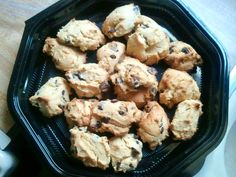 Chocolate chip cake mix cookies!  10/01/12