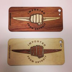 We've teamed up with Chrysler to bring back Made in America.  #Chrysler #ImportedfromDetroit #iPhonecase #Woodchuckcase http://www.woodchuckcase.com/collections/customizable
