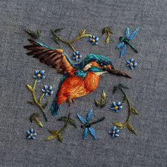 Реалистичная вышивка от Хлои Джордано. Фото