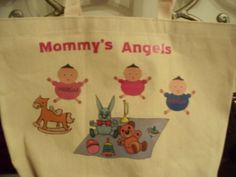 Babies Galore Totes by KidBabies on Etsy, $12.95