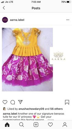 Baby Girl Dresses Diy, Girl Outfits, Baby Dress, Frock Design, Designer Work Dresses, Kids Dress Wear, Kids Wear, Kids Ethnic Wear, Kids Blouse Designs