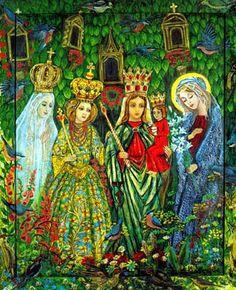 """""""Madonnas of the World"""" by Wislawa Kwiatkowska"""