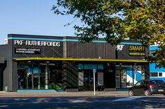 Daytime View Outside PKF SMART Business Hub - NZ