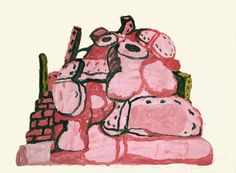 Philip Guston. Residue, 1971. Oil on paper. Private Collection. © Estate of Philip Guston; image courtesy McKee Gallery, New York, NY