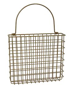 Take a look at this Wire Pocket Basket today!
