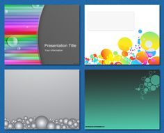#Free #PowerPoint #background - Bubbles