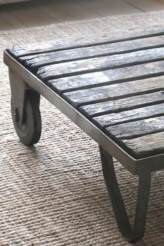 industrial table ♥
