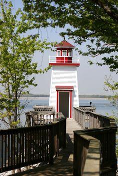 The #Kentucky Lake Lighthouse