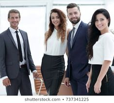Similar Images, Stock Photos & Vectors of Portrait of successful team of business professionals standing together - 88823131 Professional Group, Professional Photography, Team Photos, Group Photos, Sample Business Cards, Group Photo Poses, Office Team, Model Release, Family Pictures