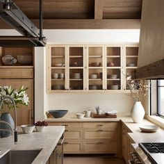 Dark, light, oak, maple, cherry cabinetry and light wood kitchen cabinets with quartz countertops. CHECK THE PICTURE for Many Wood Kitchen Cabinets. Home Decor Kitchen, Kitchen Furniture, Kitchen Interior, Kitchen Dining, Kitchen Ideas, Kitchen Wood, Design Kitchen, Kitchen Tips, Country Kitchen