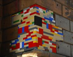 Using LEGO, Artist Restores Crumbling Architecture