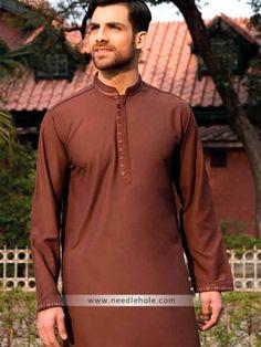 Menswear #kurta shalwar suit for wedding, #reception and engagement party. #Embroidered collar, sleeves cuffs and kurta front in cotton silk fabric http://www.needlehole.com/menswear-kurta-shalwar-suit-for-wedding-reception-and-engagement-party.html #Menswear #kurta shalwar suits for #wedding and engagement. Mens kurta shalwar suits for wedding party, men's salwar kamiz for #engagement party and kids salwar kameez uk