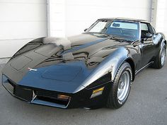 Chevrolet : Corvette Base Coupe 2-Door 1980 chevrolet corvette mirror glass t tops sharp looking and very fast