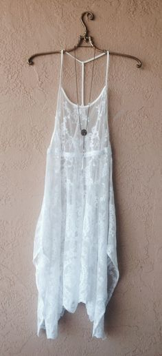 Gypsy lace beach dress
