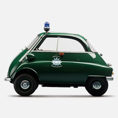 rmgdesign:  (via BMW Isetta 'Polizei' | iainclaridge.net)