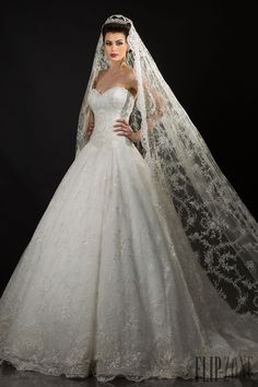 Appolo Fashion 2014 collection - Bridal - http://www.flip-zone.net/fashion/bridal/couture/appolo-fashion-4736
