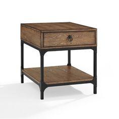 Crosley Trenton Side Table | Hayneedle