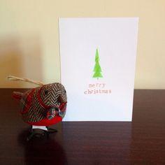 kreative ideen mit Anleitung zum Basteln von Weihnachtskarten