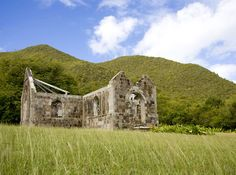 Historical ruins on the island of #Nevis.    http://nevis1.com
