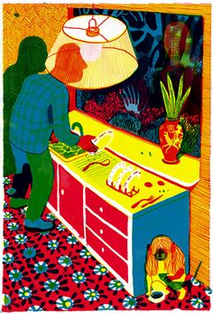Brecht Evens (the light that illuminates your immediate work may make it hard to see other things that are going on)