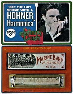 Johnny Cash HOHNER Harmonica
