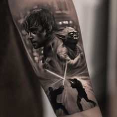 Star Wars tattoo by Inal Bersekov