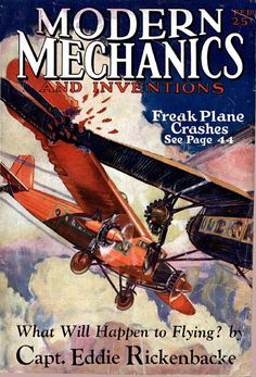 New item in my etsy shopCrashing planes for the movies. Vintage science magazine cover 1929 by PanchromaticaDesigns. Find it here http://ift.tt/2gBBmDS