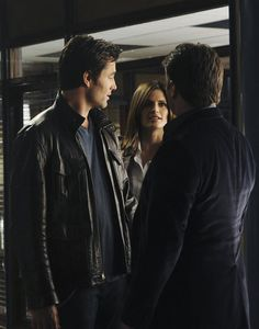 Victor Webster, Nathan Fillion, and Stana Katic in Castle Castle Season 3, Castle 2009, Victor Webster, Richard Castle, Castle Tv Shows, Castle Beckett, Nathan Fillion, Tv Episodes, Stana Katic