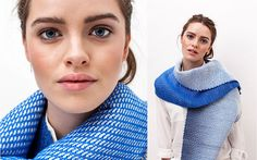 Handwoven scarf by Winter in Holland