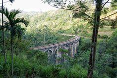 Photograper Captured this beautiful view of Ella Nine Arch Bridge Arch Bridge, Travel Memories, Sri Lanka, Train Journey, Nature, Beautiful, Instagram, Holiday, Naturaleza