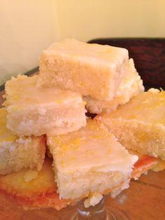 Maggie Monday: Lemony Lemon Brownies