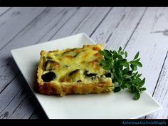 Tarta prowansalska,   czyli pyszna warzywa propozycja   obiadu lub kolacji.         Taką Tartę prowansalską, czyli grillowane warzywa na s...