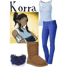 """""""Korra"""" by companionclothes on Polyvore"""