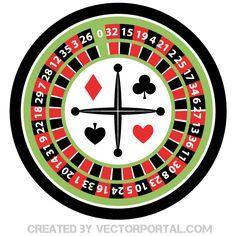 Casino Roulette Wheel Illustration