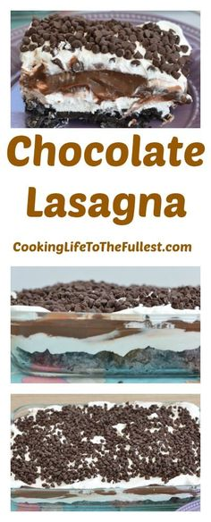 Watch the Chocolate Lasagna cooking video