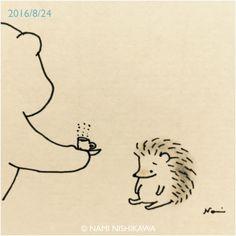 """namiharinezumi: """"949 元気だしなよ Cheer up! """""""