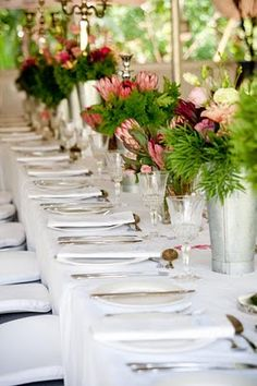 floral Table Decorations, Floral, Furniture, Ideas, Home Decor, Decoration Home, Room Decor, Flowers, Home Furnishings