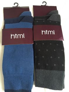 html Men Cotton Crew Socks 4 Pairs Pack Navy Black Made in Turkey  #html #Crewsocks #socks #giftforhim #mensocks #forhim #cottonsocks
