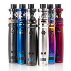 The Uwell Nunchaku TC Starter Kit incorporates the most dynamic performance functionality within an all-purpose pen structure, integrating a smart chipset with temperature control to pair with the new Nunchaku Sub-Ohm Tank. Drip Tip, Battery Sizes, Light Cream, Vape Shop, Vape Juice, Starter Kit, Water Bottle, Pure Products, Pens