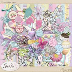 Candy Heaven by #LouCee Creations #digichick #digiscrap