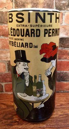 Absinthe Liquor Vintage French Advertisement Porcelain Umbrella Stand #Absinthe