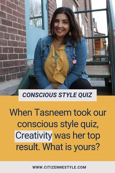 Want to look good, feel good, and do good with your wardrobe? Take the free quiz and unlock your conscious style! Sustainable Style, Sustainable Fashion, Wardrobe Planner, Wishes For You, Slow Fashion, Consciousness, Feel Good, That Look, Feelings