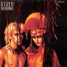 "Feast is the debut album by British duo The Creatures (comprised by Siouxsie Sioux and musician Budgie, then-members of the band Siouxsie and the Banshees). It reached number 17 in the U.K. charts and the ""Miss the Girl"" single peaked at number 21."