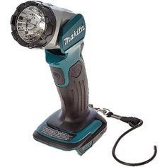The Makita LXT LED flashlight is dual voltage and can be powered by or Li-ion batteries. Makita Power Tools, Led Flashlight, Work Pants, Room Ideas, Shopping, Work Trousers