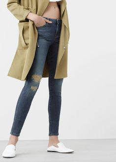 Jean skinny push-up uptown - Jeans pour Femme | MANGO France