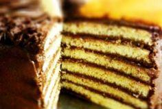 Traditional Jewish Seven Layer Cake.