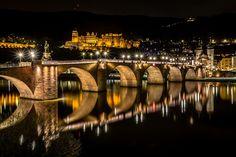 Heidelberg, Baden-Wurtemberg, Germany by Europe Trotter