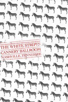 The white stripes #poster #illustration #design